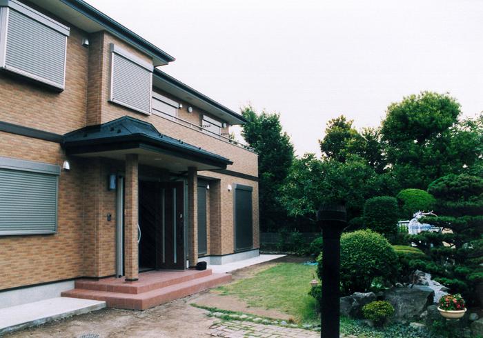 高級感あふれる2世帯住宅